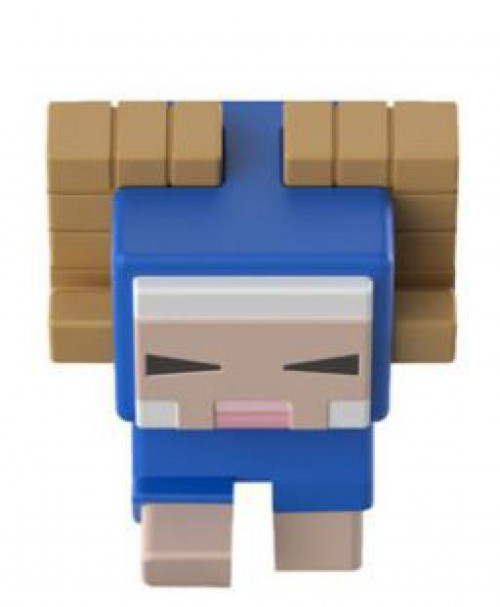 Minecraft Earth Series 19 Dyed Horned Sheep Minifigure [Loose]