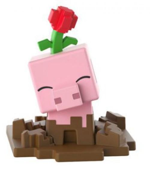 Minecraft Earth Series 19 Muddy Pig Minifigure [Loose]