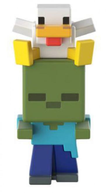Minecraft Earth Series 19 Reverse Chicken Jockey Minifigure [Loose]