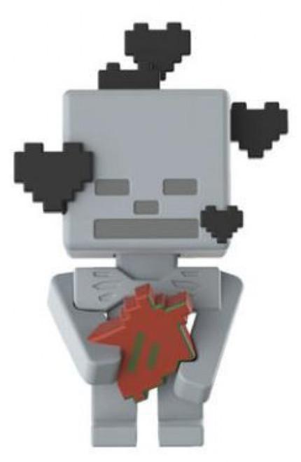 Minecraft Earth Series 19 Adoring Skeleton Minifigure [Loose]