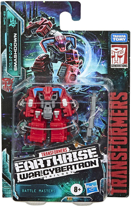 Transformers Generations War for Cybertron: Earthrise Smashdown Battle Master Action Figure