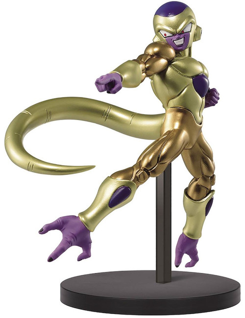 Dragon Ball Z: Buyu Retsuden Chosenshiretsuden II Golden Frieza 7-Inch Collectible PVC Figure (Pre-Order ships November)