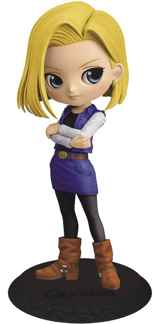 Dragon Ball Z Q Posket Android 18 5.5-Inch Collectible PVC Figure