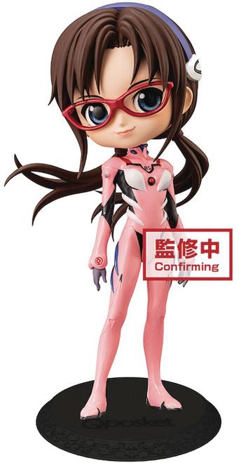 Neon Genesis Evangelion Q Posket Mari Makinami Illustrious 5.5-Inch Collectible PVC Figure (Pre-Order ships November)