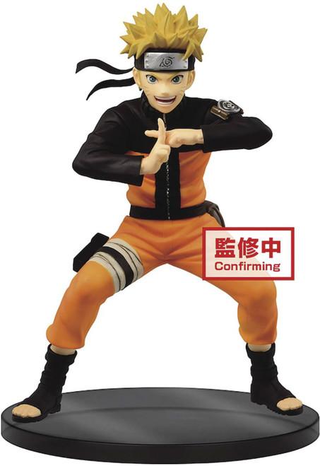 Naruto Shippuden Vibration Stars Naruto Uzumaki 6.7-Inch Collectible PVC Figure [Version 2, Sage Mode] (Pre-Order ships November)