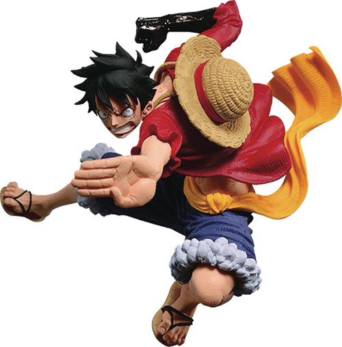 One Piece SCultures Big Figure Colosseum VI Monkey D. Luffy 4-Inch Collectible PVC Figure (Pre-Order ships November)