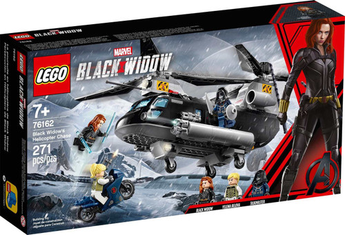 LEGO Marvel Black Widow's Helicopter Chase Exclusive Set #76162