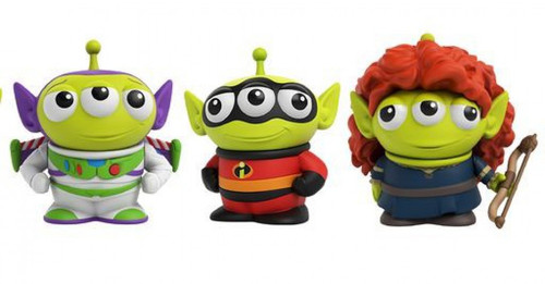 Disney / Pixar Toy Story Alien Remix Buzz Lightyear, Merida & Mr. Incredible 3-Inch Mini Figure 3-Pack