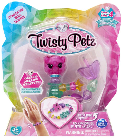 Twisty Petz Series 4 Marshmellow Merkitty Bracelet