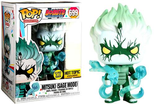 Funko Boruto Naruto Next Generations Pop! Animation Mitsuki Exclusive Vinyl Figure #699 [Sage Mode, Glow in the Dark]