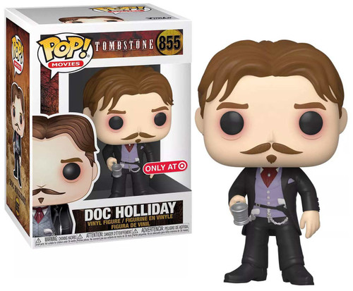 Funko Tombstone POP! Movies Doc Holliday Exclusive Vinyl Figure #855 [with Cup]