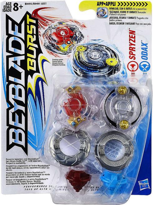 Beyblade Burst Spryzen & Odax Dual Pack [Damaged Package]