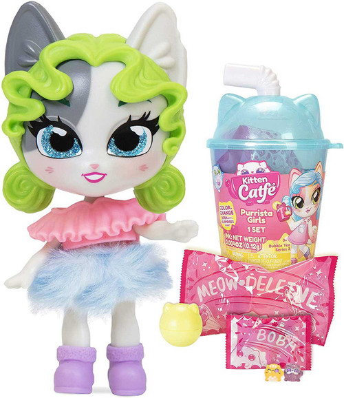 Kitten Catfe Series 3 (Boba Cup) Purrista GIrls Mystery Pack [RANDOM Color Pack]