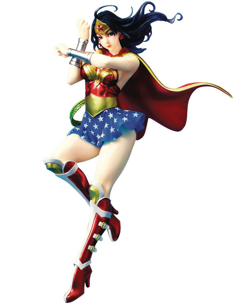 DC Bishoujo Armored Wonder Woman Statue [2nd Edition]
