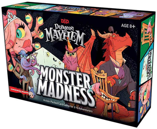 Dungeons & Dragons Dungeon Mayhem Monster Madness Card Game