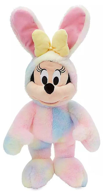 Disney 2020 Easter Minnie Mouse Exclusive 18-Inch Plush [Marbled Egg-Dye Bunny]