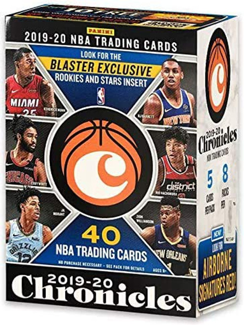 NBA Panini 2019-20 Chronicles Basketball Trading Card BLASTER Box [8 Packs]