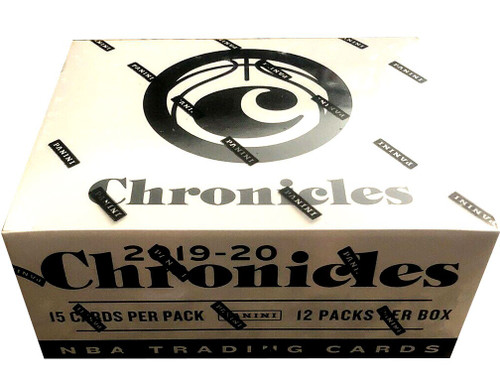 NBA Panini 2019-20 Chronicles Basketball Trading Card VALUE Box [12 Packs]