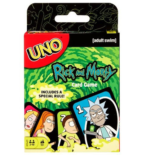 Rick & Morty UNO Card Game