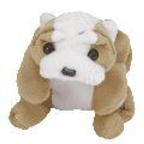 Beanie Babies Wrinkles the Dog Beanie Baby Plush