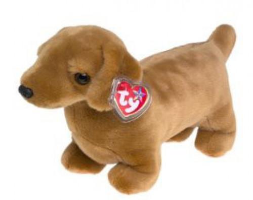 Beanie Babies Weenie the Dog Beanie Baby Plush