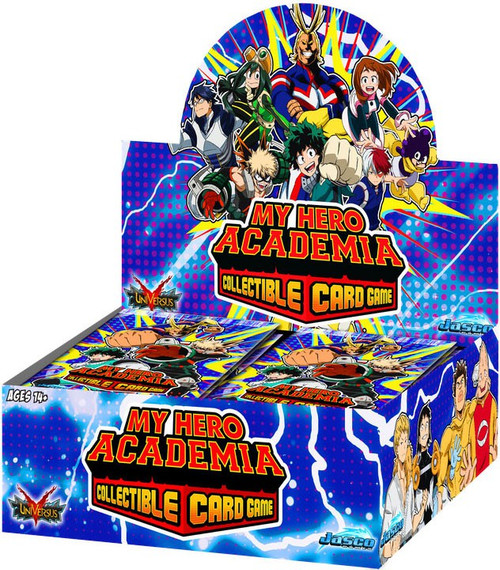 UniVersus Collectible Card Game My Hero Academia Booster Box [24 Packs] (Pre-Order ships March)