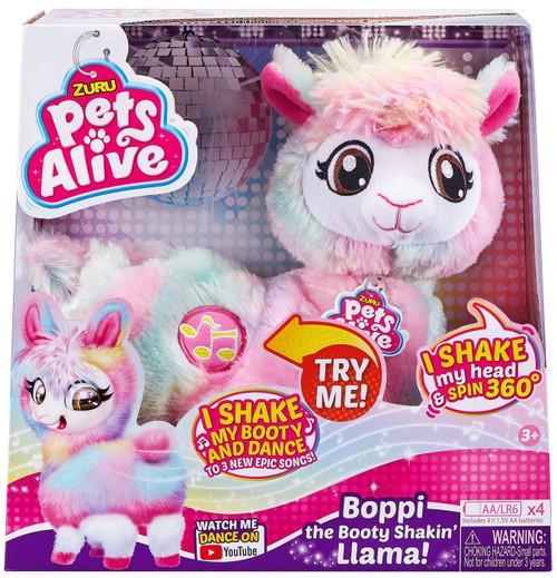 Pets Alive Boppi the Booty Shakin' Llama Robotic Pet Figure [Rainbow Fur]