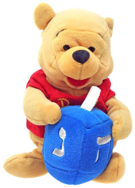 Disney Winnie the Pooh Hanukkah Pooh Exclusive 8-Inch Mini Bean Bag Plush