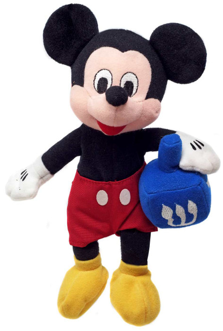 Disney Mickey Mouse with Dreidel Exclusive 8-Inch Mini Bean Bag Plush