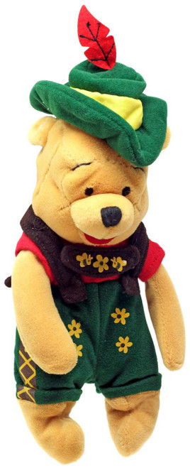 Disney Winnie the Pooh Octoberfest Pooh Exclusive 8-Inch Mini Bean Bag Plush