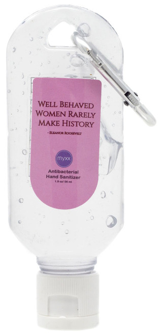Myxx Well Behaved Women Rarely Make Antibacterial Hand Sanitizer [2 Ounces]
