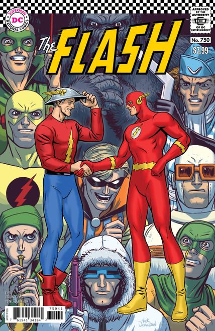 DC The Flash #750 Comic Book [Nick Derington 1960's Variant Cover]