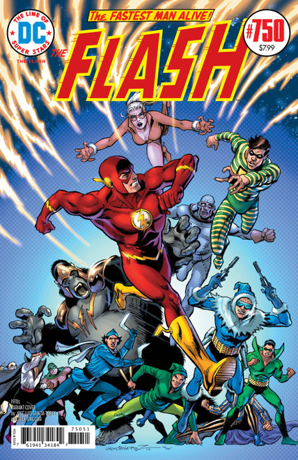 DC The Flash #750 Comic Book [Jose Luis Garcia-Lopez 1970's Variant Cover]
