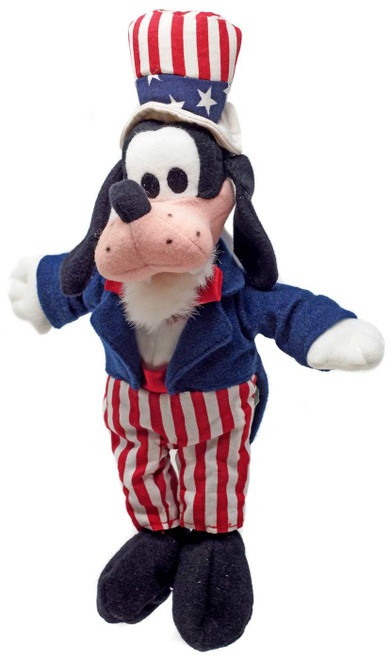 Disney Uncle Sam Goofy Exclusive 10-Inch Plush