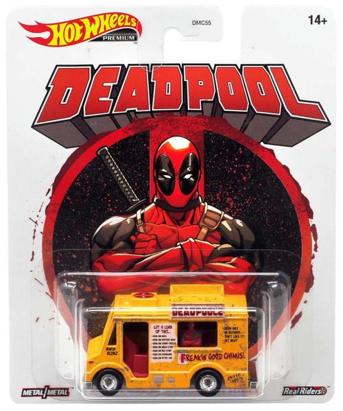 Hot Wheels Marvel Premium Deadpool Chimichanga Truck Diecast Car