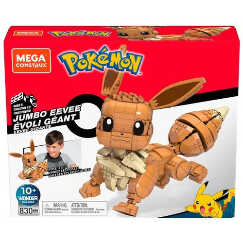 Pokemon Jumbo Eevee 11-Inch Set (Pre-Order ships January)