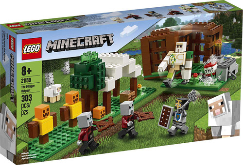 LEGO Minecraft The Pillager Outpost Set #21159