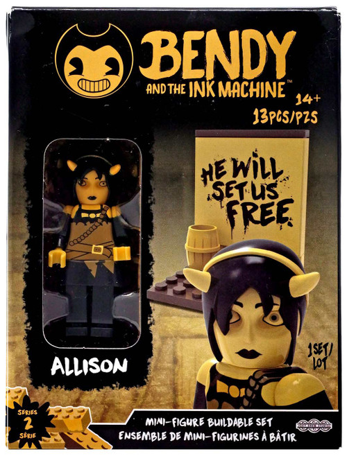 Bendy and the Ink Machine Series 2 Mini Figure Allison Buildable Set