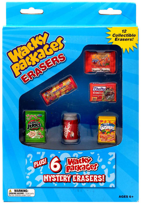 Wacky Packages Topps Erasers Series 2 12-Pack