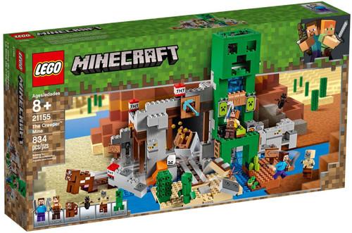 LEGO Minecraft The Creeper Mine Set #21155
