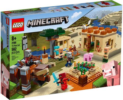 LEGO Minecraft The Illager Raid Set #21160