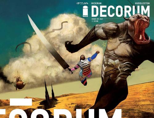 Image Comics Decorum #3 Comic Book [Mike Huddleston Cover A]