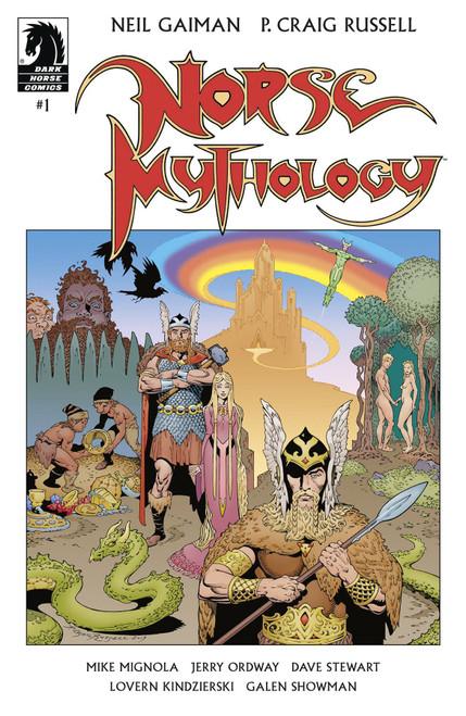 Dark Horse Neil Gaiman Norse Mythology #1 Comic Book