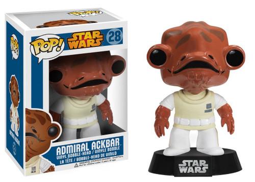 Funko POP! Star Wars Admiral Ackbar Vinyl Bobble Head #28