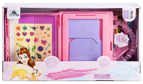 Disney Princess Fashion Plates Exclusive Playset