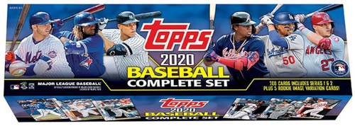 MLB Topps 2020 Baseball Trading Card Factory Set [700 Cards + 1 Rookie Pack!]