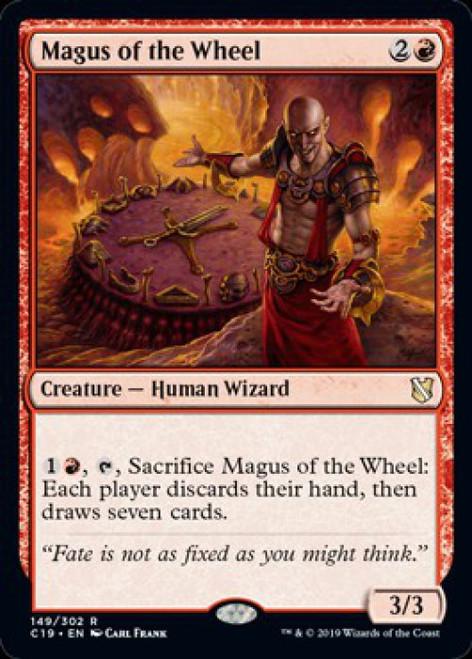 MtG 2019 Commander Rare Magus of the Wheel #149