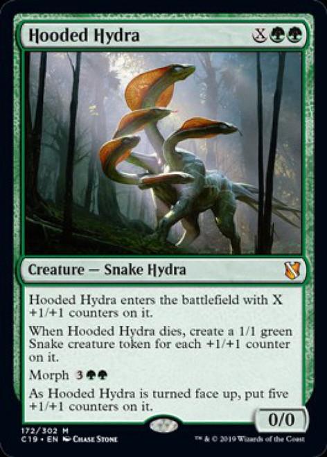 MtG 2019 Commander Mythic Rare Hooded Hydra #172