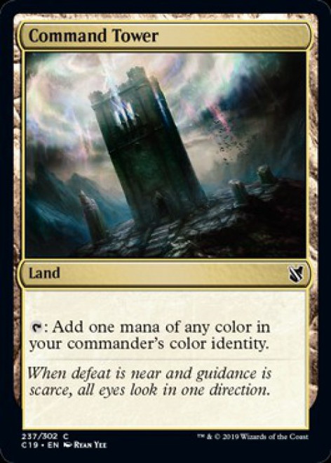 MtG 2019 Commander Common Command Tower #237