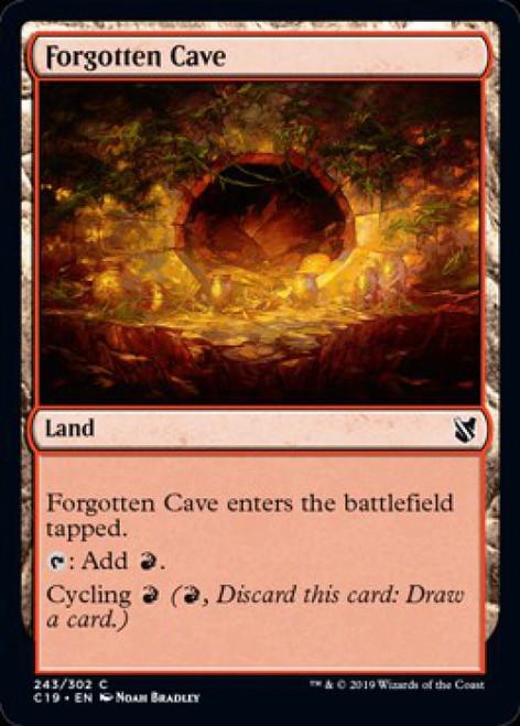 MtG 2019 Commander Common Forgotten Cave #243